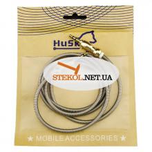 AUX Кабель 3.5mm Husky Metall - (Золотой)