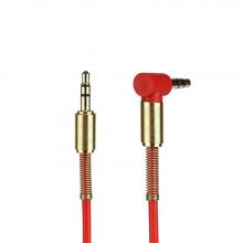 AUX Кабель 3.5mm Metall (Красный)