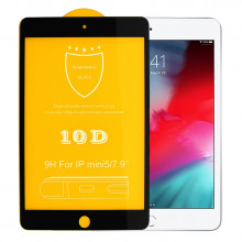 10D Защитное Стекло iPad Mini 5 7.9″ A2133, A2124, A2126, A2125 (2019)