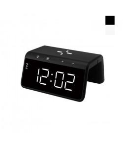 Часы с Беспроводной зарядкой SY-W0258 + LED