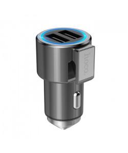 Автомобильное зарядное устройство Hoco Z33 2 USB 3.1A (Мультитул)