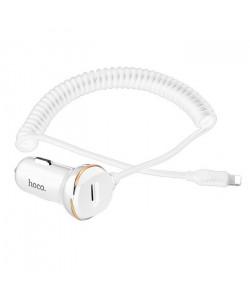 АЗУ Hoco Z14 (3.4А, USB + iPhone Lightning)