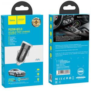 АЗУ Hoco Z32b USB (3A, USB + PD, Quick Charge 3.0)