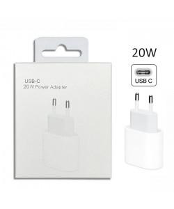 Сетевое зарядное устройство для Apple iPhone 12 20W USB-C белое