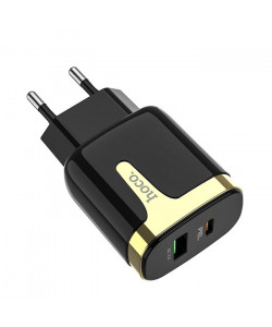 Сетевое зарядное устройство Hoco C79A QC3.0+PD