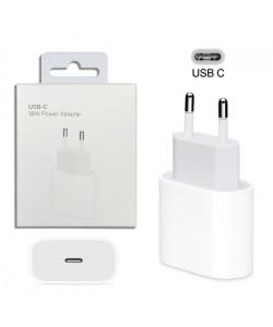 Сетевое зарядное устройство USB-C Apple iPhone 11 3.6A 18w белое
