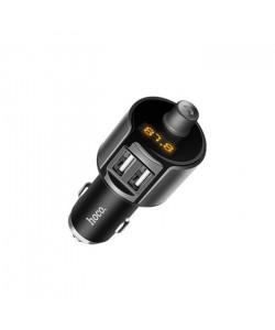 FM Модулятор Hoco E19 – 2 USB + Bluetooth