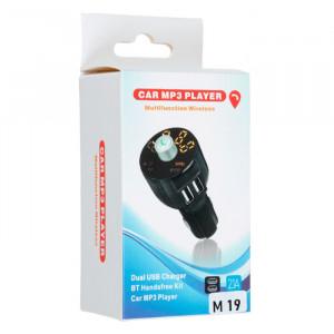 FM Модулятор M19 – 2 USB + Bluetooth