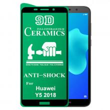 9D Стекло Huawei Y5 2018 – Ceramics