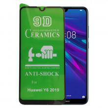 9D Стекло Huawei Y6 2019 – Ceramics