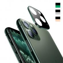 3D Стекло для камеры Apple iPhone 11 Pro Max – Металлическая рамка