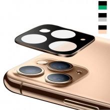 3D Стекло для камеры Apple iPhone 11 Pro – Металлическая рамка
