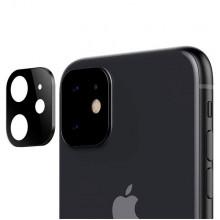 3D Стекло для камеры Apple iPhone 11 – Черное