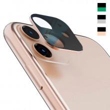3D Стекло для камеры Apple iPhone 11 – Металлическая рамка
