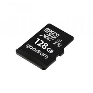 Карта памяти Micro SD 128GB (Class 10) + Adapter Goodram