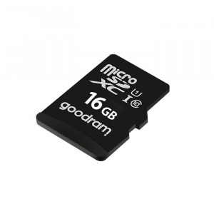 Карта памяти Micro SD 16GB (Class 10) + Adapter Goodram