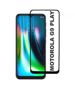 3D Стекло Motorola G9 Play – Full Glue (полный клей)