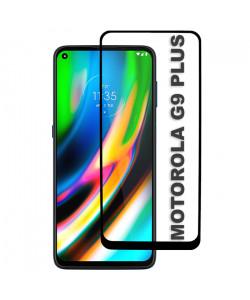 3D Стекло Motorola G9 Plus – Full Glue (полный клей)