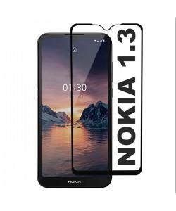 3D Стекло Nokia 1.3 – Full Glue (полный клей)