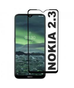 3D Стекло Nokia 2.3 – Full Glue (полный клей)