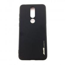 Чехол силиконовый Nokia 5.1 Plus – Smtt (Черный)