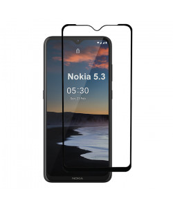 3D Стекло Nokia 5.3 – Full Glue (полный клей)