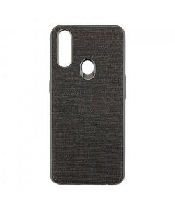 Цветной чехол Oppo A31 – Shine (Черный)