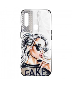 Чехол Oppo A31 – Lady Fake Fashion Mix