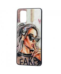 Чехол Oppo A72 – Lady Fake Fashion Mix