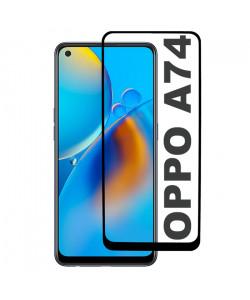 3D Стекло Oppo A74 – Full Glue (полный клей)