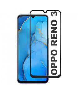 3D Стекло Oppo Reno 3 – Full Glue (полный клей)