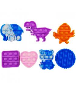 Игрушка Pop it Mini (Животные, Фигруки, Сердечки) – Антистресс