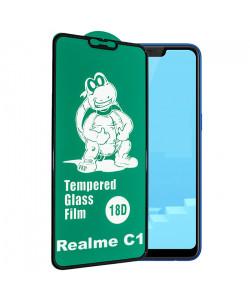 18D Стекло Realme C1 – (C Защитой По Периметру)