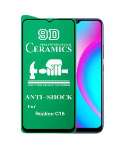 9D Стекло Realme C15 – Ceramics