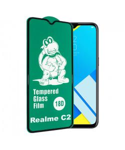 18D Стекло Realme C2 – (C Защитой По Периметру)