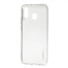 Чехол силиконовый Samsung Galaxy A30 – Smtt (Прозрачный)