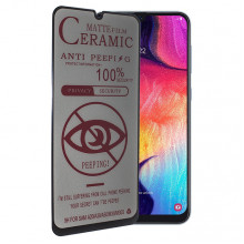 Матовое стекло Samsung Galaxy A50 – Ceramics