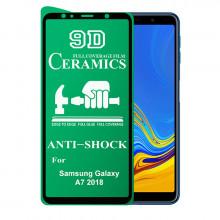 9D Стекло Samsung Galaxy A7 2018 – Ceramics