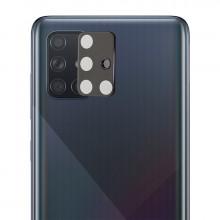3D Стекло для камеры Samsung Galaxy A71 – Черное