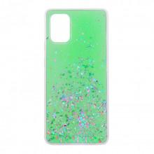 Чехол Metal Dust Samsung Galaxy A71 – Зеленый