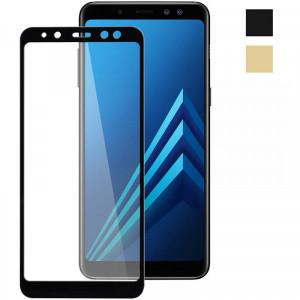 5D Стекло Samsung A8 2018 – Скругленные края