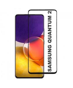 3D Стекло Samsung Galaxy Quantum 2 – Full Glue (полный клей)