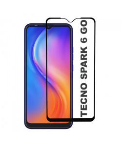 3D Стекло Tecno Spark 6 Go – Full Glue (полный клей)