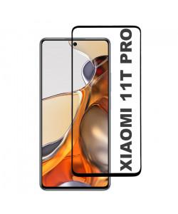 3D Стекло Xiaomi 11T Pro – Full Glue (полный клей)
