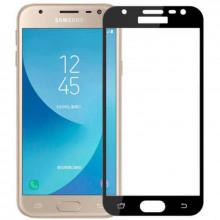 3D Стекло Samsung Galaxy J3 2017 J330 – Full Glue (black/white/gold)