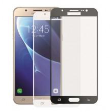 3D Стекло Samsung Galaxy J7 2016 J710 – Full Glue (black/white)