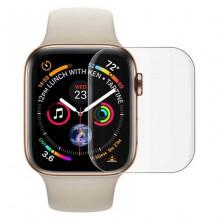 3D Стекло для Apple Watch 38mm ( С ультрафиолетовым клеем )