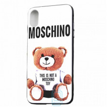 Чехол Creative TPU+PC Apple iPhone X, XS Moschino white