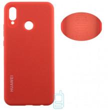 Чехол Silicone Cover Full Huawei P20 Lite, Nova 3e оранжевый