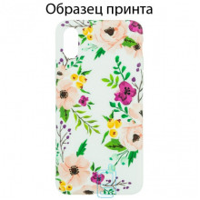 Чехол Bouquet Apple iPhone XS Max pink